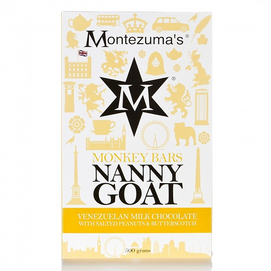 Montezuma's Nanny Goat 500g Chocolate Bar