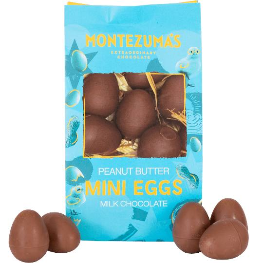 Montezuma's Chocolate Peanut Butter Mini Eggs
