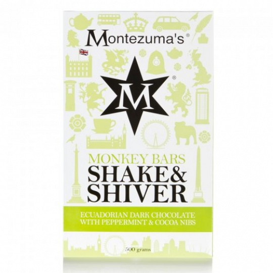 Montezuma's Shake & Shiver Monkey Chocolate Bar 500g