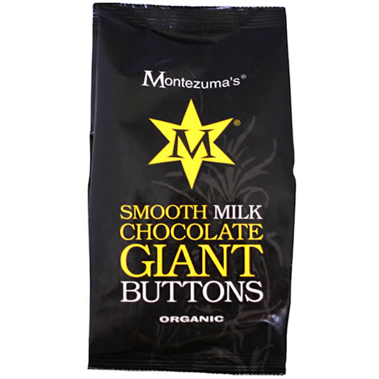 Montezuma's Smooth Milk Chocolate Giant Chocolate Buttons