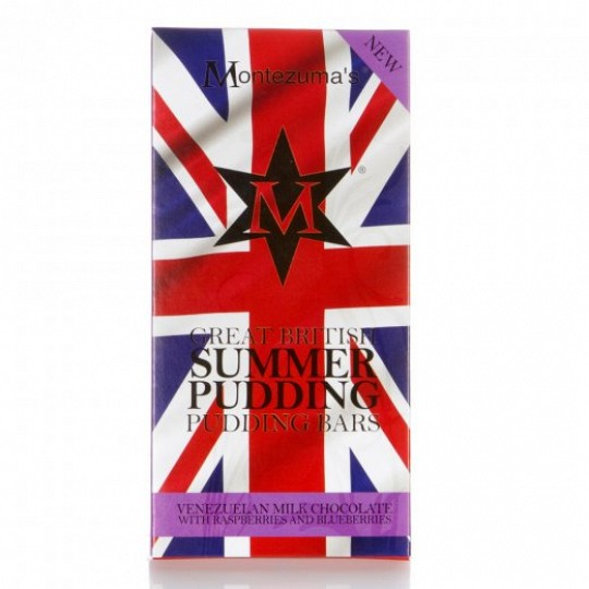 Montezuma's Summer Pudding Great British Pudding Bar 100g