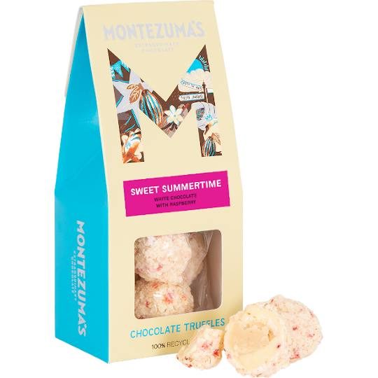 Montezuma's Sweet Summertime Raspberry White Chocolate Truffles