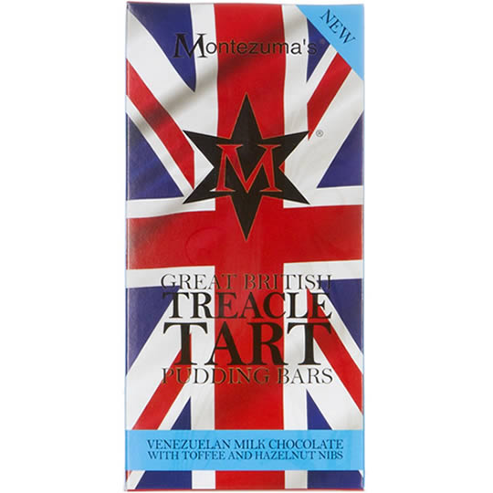 Montezuma's Treacle Tart Chocolate Pudding Bar