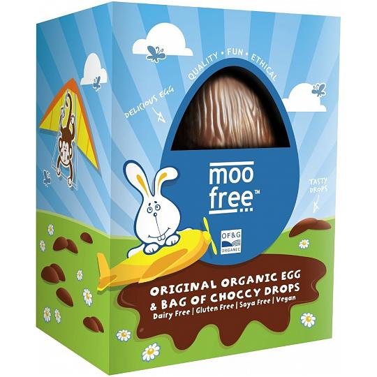 moo free Orignal Organic Easter Egg with Chocolate Buttons