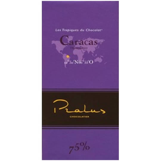 Pralus Caracas 75% Cocoa Dark Chocolate Bar