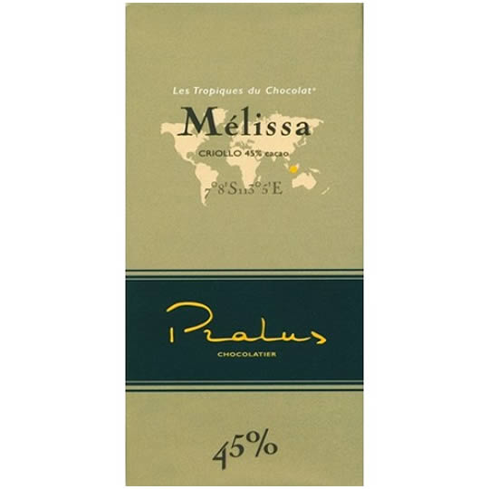 Pralus Melissa Criollo 45% Cocoa Milk Chocolate Bar