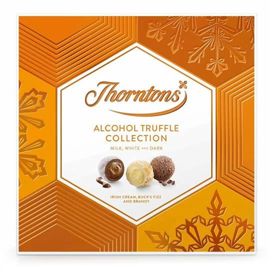 Thorntons Alcohol Chocolate Truffle Selection