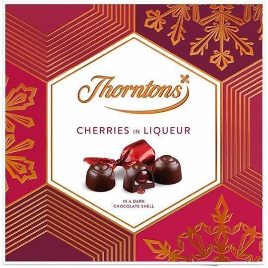 Thorntons Chocolate Cherries In Liqueur