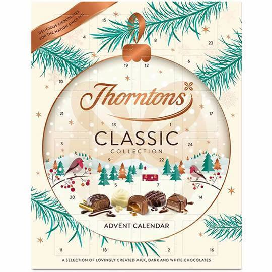 Thorntons Classic Collection Advent Calendar