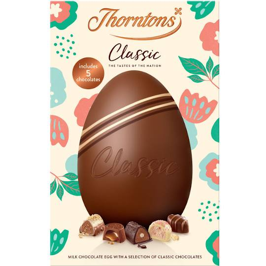 Thorntons Classics Collection Easter Egg