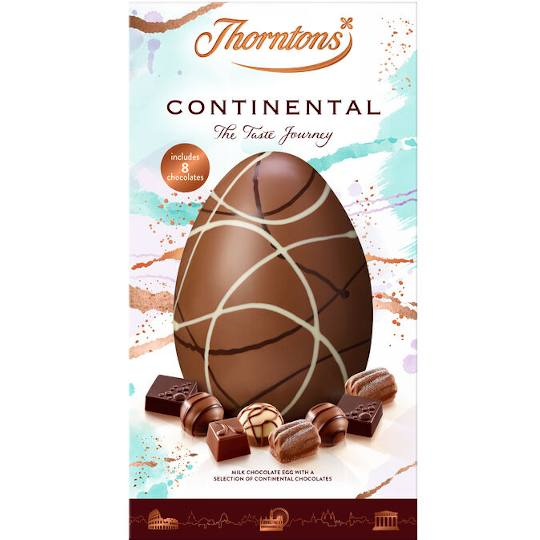 Thorntons Continental Milk Chocolate Easter Egg