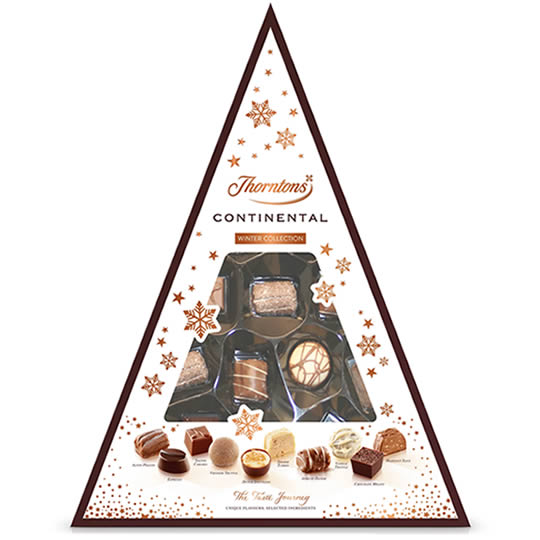 Thorntons Winter Continental Chocolate Collection