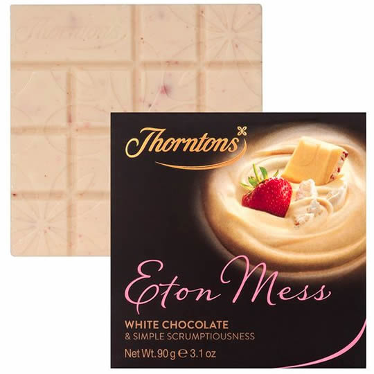 Thorntons Eton Mess Chocolate Block