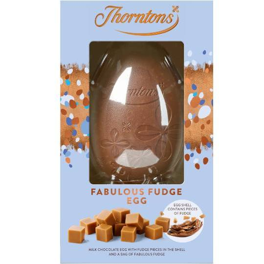 Thorntons Fabulous Fudge Milk Chocolate Easter Egg