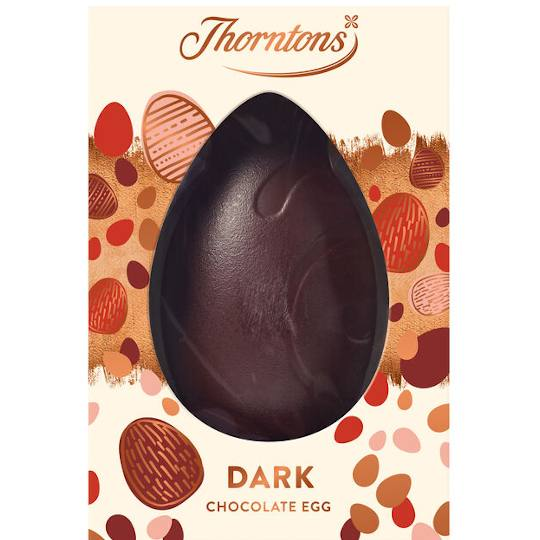 Thorntons Large Dark Chocolate Easter Egg