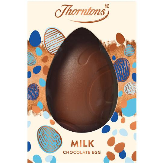 Thorntons Large Milk Chocolate Easter Egg