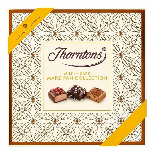 Thorntons Special Selection Milk and Dark Chocolate Marzipan Collection