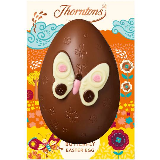 Thorntons Milk Chocolate Butterfly Easter Egg