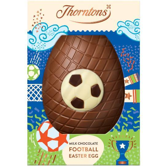 Thorntons Milk Chocolate Football Easter Egg