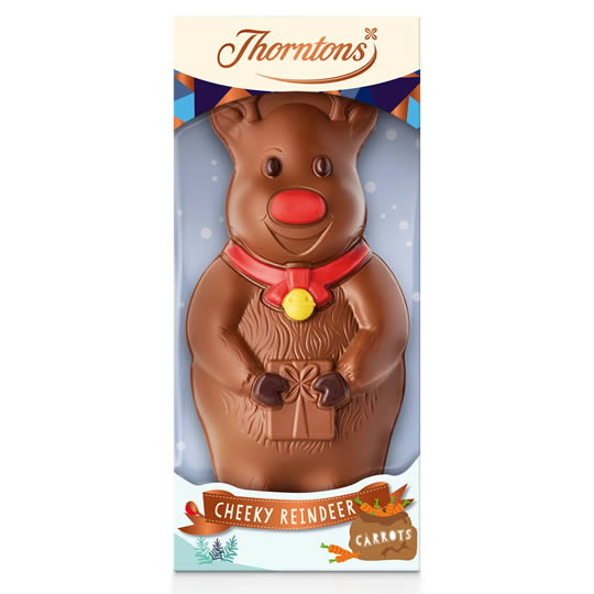 Thorntons Ronnie the Reindeer Chocolate Model