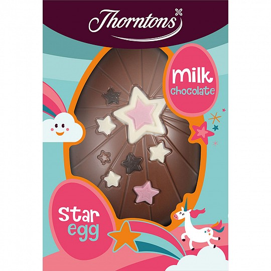 Thorntons Milk Chocolate Star Easter Egg