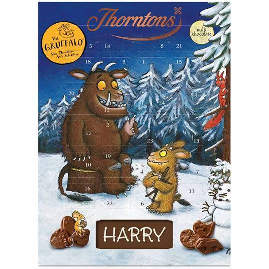 Thorntons The Gruffalo Chocolate Advent Calendar