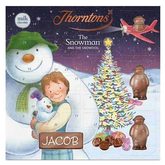 Thorntons Chocolate The Snowman and The Snowdog Advent Calendar