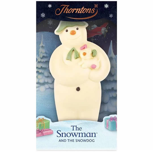 Thorntons The Snowman and The Snowdog Chocolate Model