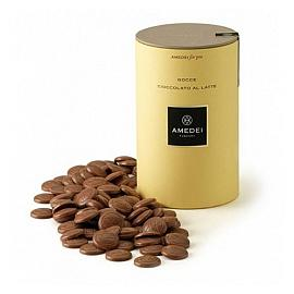 Amedei for you Gocce Cioccolato al Latte Milk Chocolate Drops 250g