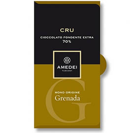 Amedei Grenada 70% Cocoa Dark Chocolate Bar