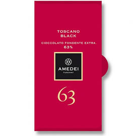 Amedei Toscano Black 63% Cocoa Dark Chocolate Bar