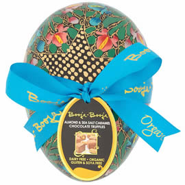 Booja-Booja Almond & Sea Salt Caramel Chocolate Truffles Easter Egg 138g