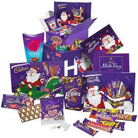 Cadbury Christmas Chocolate Gift Box