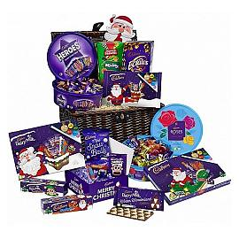 Cadbury Christmas Chocolate Wicker Hamper