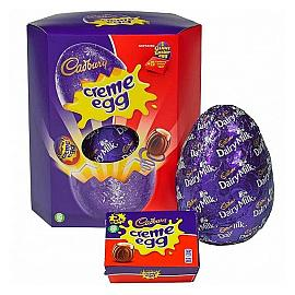 Cadbury Creme Egg Giant Easter Egg