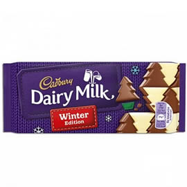 Cadbury Dairy Milk Winter Edition Chocolate Bar