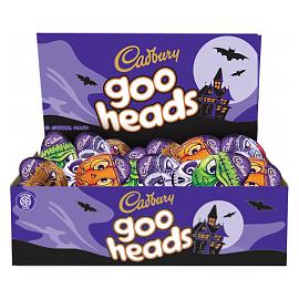 Cadbury goo heads Chocolate Eggs (Box of 48)