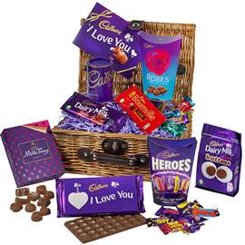 Cadbury Valentine's Day Chocolate Hamper