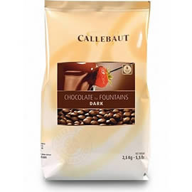 Callebaut Chocolate for Fountains Dark Chocolate 2.5kg