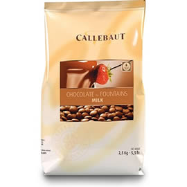 Callebaut Chocolate for Fountains Milk Chocolate 2.5kg