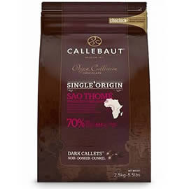 Callebaut Origin Collection Sao Thome 70% Cocoa Dark Chocolate Callets 2.5kg