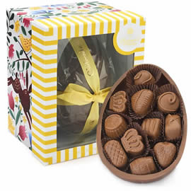 Charbonnel et Walker Milk Chocolate Easter Egg with Milk Chocolates 450g