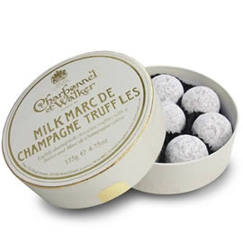 Charbonnel et Walker Milk Marc de Champagne Chocolate Truffles 135g