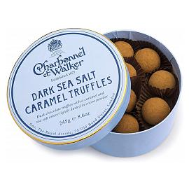 Charbonnel et Walker Sea Salt Dark Caramel Chocolate Truffles 245g