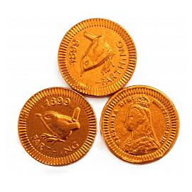 Chocolate Trading Co. Copper Farthing Milk Chocolate Coins