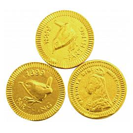 Chocolate Trading Co. Gold Farthing Milk Chocolate Coins