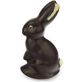 Chocolate Trading Co. Large Dark Chocolate Easter Bunny