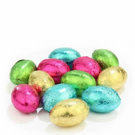 Chocolate Trading Co. Mixed Colour Solid Milk Chocolate Mini Eggs