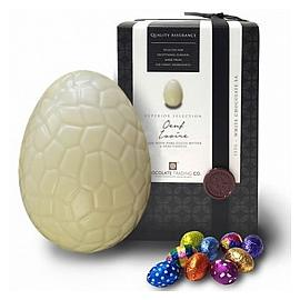 Chocolate Trading Co. Oeuf Ivoire White Chocolate Easter Egg