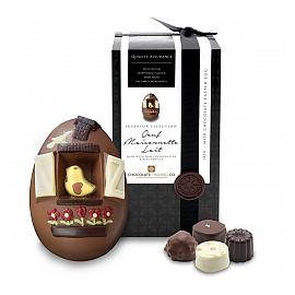 Chocolate Trading Co. Oeuf Maisonnette Lait Milk Chocolate Bird House Easter Egg